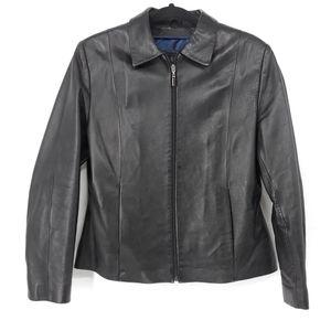 Wilsons Leather Pelle Studio Leather Moto Jacket